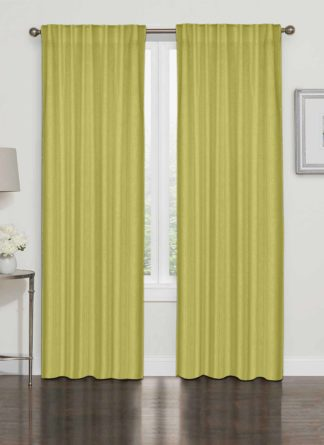 Plain Yellow Curtain - Ramsha Capet