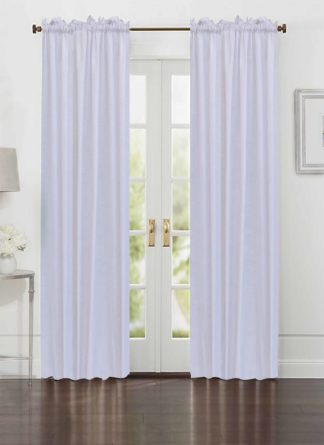 White Plain Curtain - Ramsha Capet