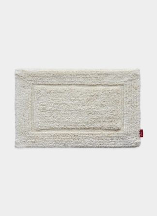 White Cotton Bath Mat - Ramsha carpet