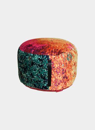 Designer Pouf - Ramsha carpet DPA-02