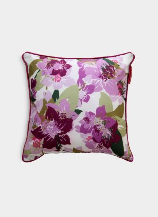 Floral pink Cushion cover - Ramsha Carpet