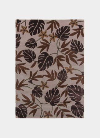 Floral Hand Tufted Carpet - Ramsha DM 009