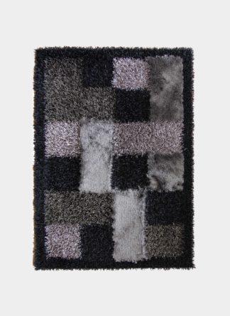 Multi Color Table Tuf Shaggy Rug - Ramsha Carpet