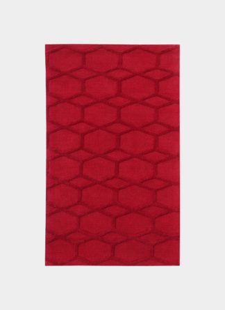 Machine Made Red Carpet - Ramsha NR 16