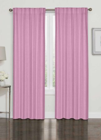 Colored Plain Curtain- Ramsha
