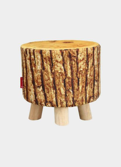 Stylish Wooden Pouf -Ramsha SPF 14