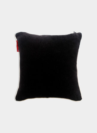 Black Cushion Cover - Ramsha carpet - FLC-14