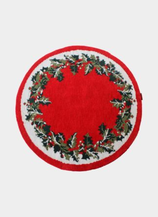 Christmas Rounded Carpets - Ramsha carpet