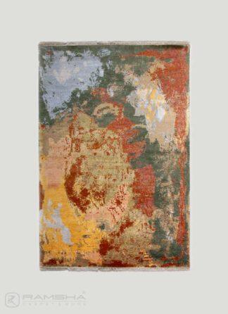 Bhadohi Hand Knotted Carpet - Ramsha
